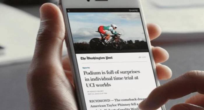 谷歌Facebook垄断移动新闻市场