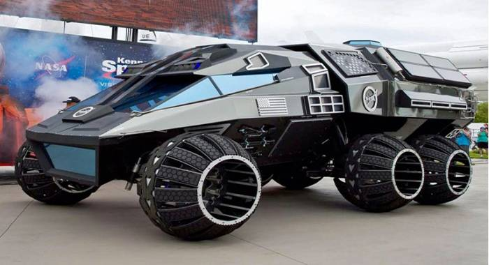 NASA与好莱坞联手打造下一代火星载人探测器概念车
